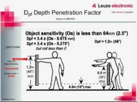 Functional Machine Safety Series - Part 3 - Safety Distance Calculations