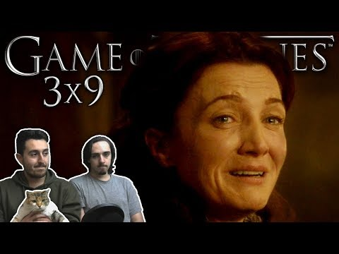 """Game of Thrones Season 3 Episode 9 REACTION """"The Rains of Castamere"""""""