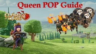 ULTIMATE TH9 Queen POP LaLoon Guide. BEST TH9 WAR ATTACK Strategy. Clash of Clans