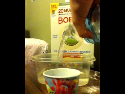 how to make sticky putty