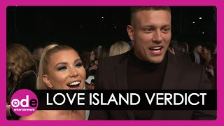 NTAs 2020: Love Island's Olivia and Alex Bowen are GLUED to new series