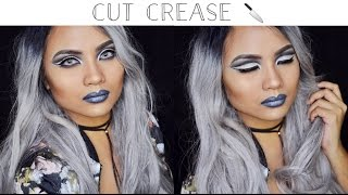 ⚡️THE FLASH⚡️KILLER FROST CUT CREASE Makeup Tutorial! (NYX Cosmetics) || itskarlawithak