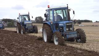 Scottish County Tractor Club, ploughing 3, Oct 2014