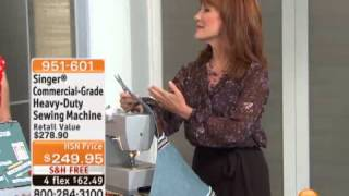 Singer Commercial-Grade Heavy-Duty Sewing Machine