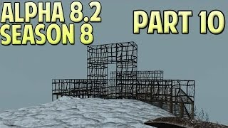 7 Days To Die Alpha 8.2 Gameplay / Let's Play Season 8 Part 10 - Rebar
