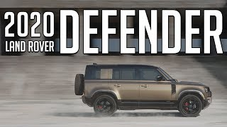 The 2020 Land Rover Defender Has Arrived // Here Is Everything You Need To Know (4K)