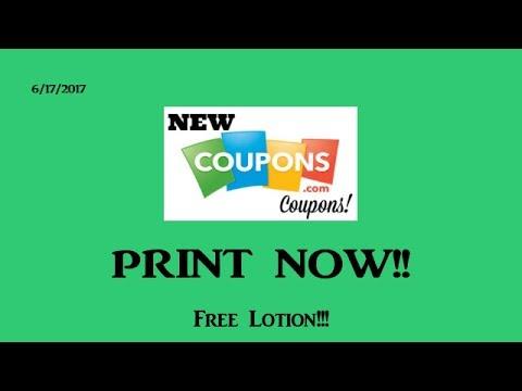 Print Now!! Coupons.com Printable Makes FREE Lotion