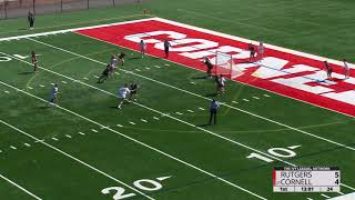 Highlights Cornell Wlax Vs Rutgers