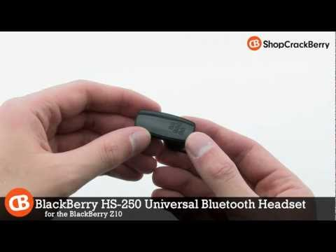 BlackBerry HS-250 Universal Bluetooth Headset for Z10