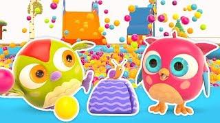 Мультики для малышей — Совенок Хоп Хоп. Развивающие мультфильмы: Тяжело и Легко