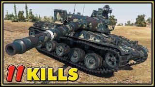 AMX 30 B - 11 Kills - World of Tanks Gameplay