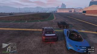 GTA V MOST EXCITING FINISH EVER + TRIPLE SLIPSTREAM