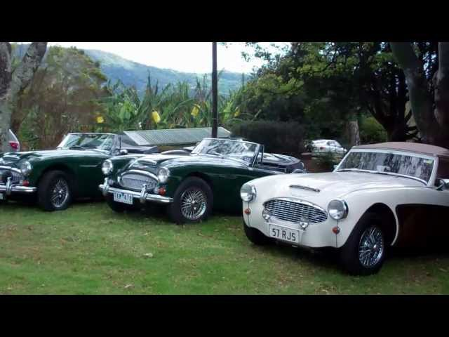 Driving a Austin Healey 100/4 - fantastic