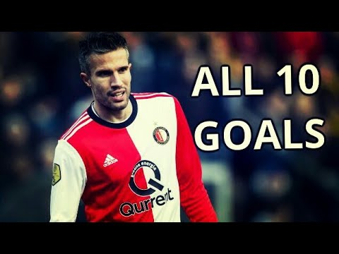 Robin Van Persie All 10 Goals for Feyenoord 2017-2018