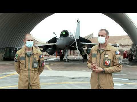 Embarquez avec l'Escadron de Chasse 3/11 Corse de Djibouti
