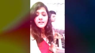 SIRIKKADHEY/COME CLOSER(REMO) - A cover| Nithesh S Bharadwaj| Sahana S| Anirudh Ravichander