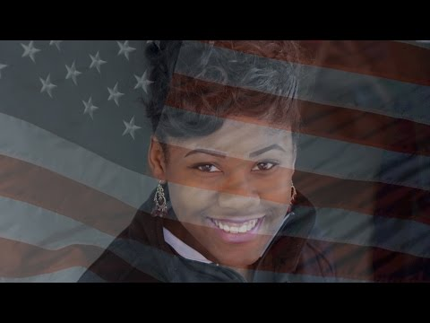 The National Anthem by Frederick Douglass High School PG County Maryland Sophomore Desarae Russell