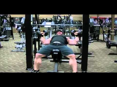 Erik Fankhouser 2013 Chest Training 3 Weeks Out - YouTube  Erik