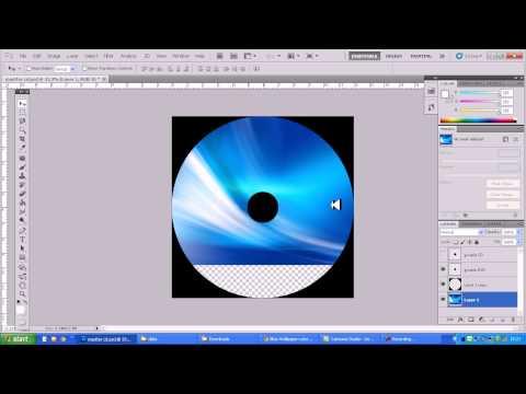 สกรีนซีดี สอนการทำไฟล์ภาพสกรีนแผ่น CD และสกรีนแผ่น DVD