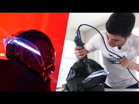 Drilling Into A $1400 AGV (LightMode Install)