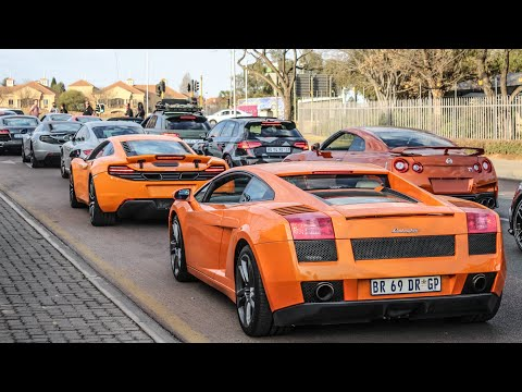 SHUTTING DOWN THE STREETS OF JOHANNESBURG IN A CRAZY SUPERCAR CONVOY!