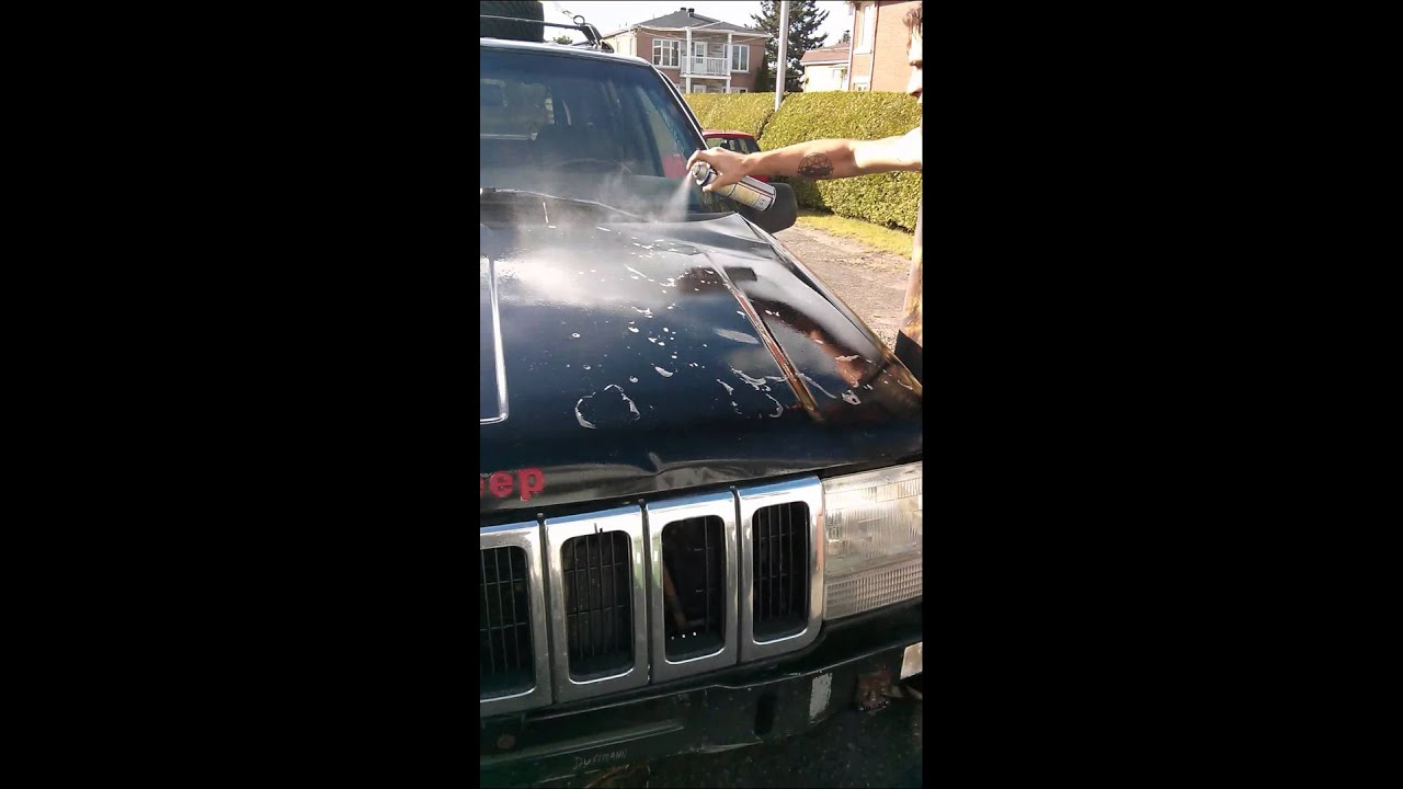 Favori Laver son Jeep avec du WD-40..Redneck style - YouTube HE74