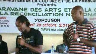 sketch Zongo et Tao- artistes Ivoiriens