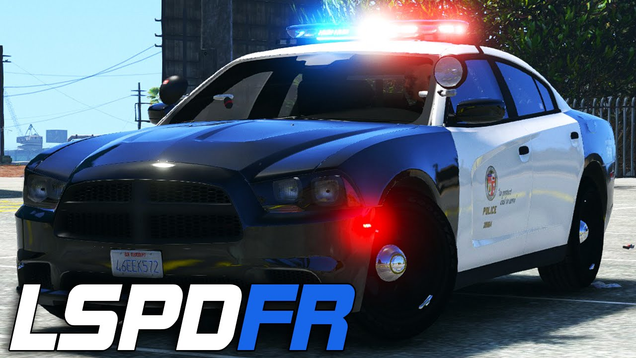Dodge Charger 2016 >> LSPDFR #147 - LAPD Dodge Charger! - YouTube