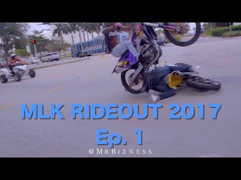 Bikelife Miami MLK RideOut 2017 Ep. 1 (Dir By @MrBizness)