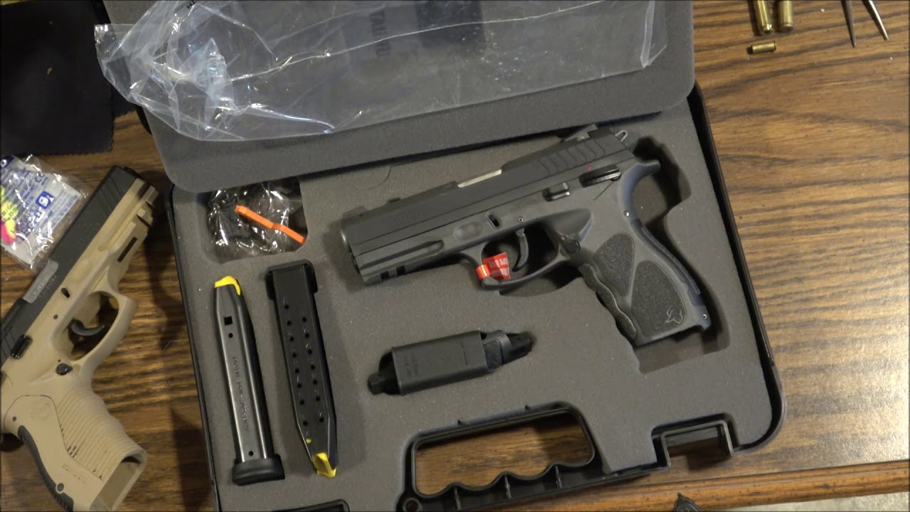 Taurus TH9 Unboxing: Full Ambidextrous Goodness for $250