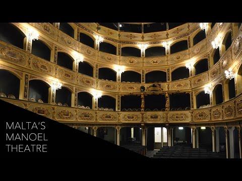 A Tour of The Manoel Theatre in Malta