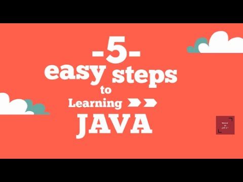 Easy Java: 5 Easy Steps To Learn Java