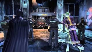 Прохождение Batman.Arkham Asylum Ч.1. (Погоня)
