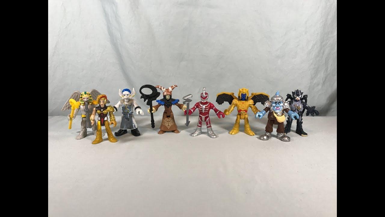 Power Rangers Imaginext Power Rangers Rita Repulsa And Finster Figures