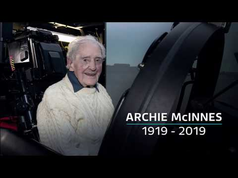 Archie McInnes passes away (WWII) (1919 - 2019) (UK) - BBC News - 2nd August 2019