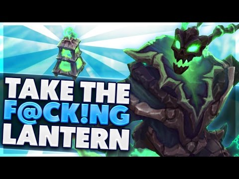 THE UNFORTUNATE REALITY FOR SUPPORT | I CALL IN AN ARTILLERY STRIKE | THRESH SUPPORT | BunnyFuFuu