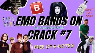 emo bands on F-F-F-FRESH cRaCk #7 (for CRANKTHATFRANK)