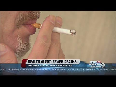 Raising age to buy cigarettes may save lives