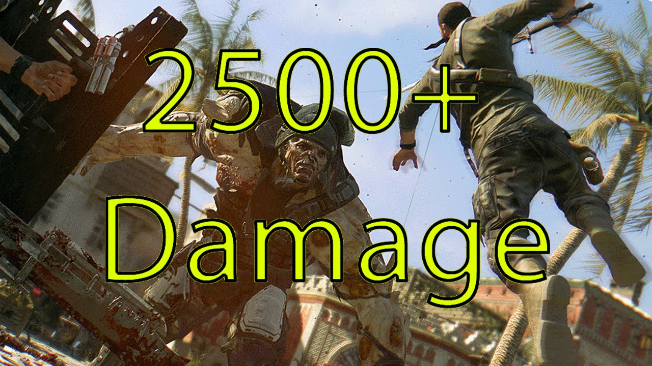 Dying Light 2500 Damage Katana Tutorial Best Weapon Max Damage In Dying Light Youtube