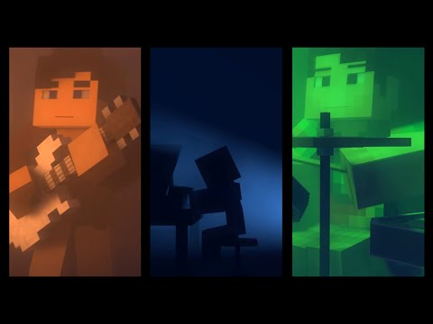 """Dreams"" - A Minecraft Parody of Coldplay's Clocks (Minecraft Animation)"