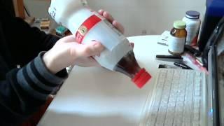 コカコーラマニアユッキーがコカコーラプラスを飲む