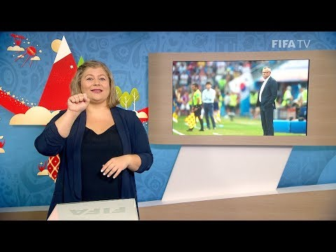 FIFA WC 2018 - SWE vs. KOR – for Deaf and Hard of Hearing - International Sign