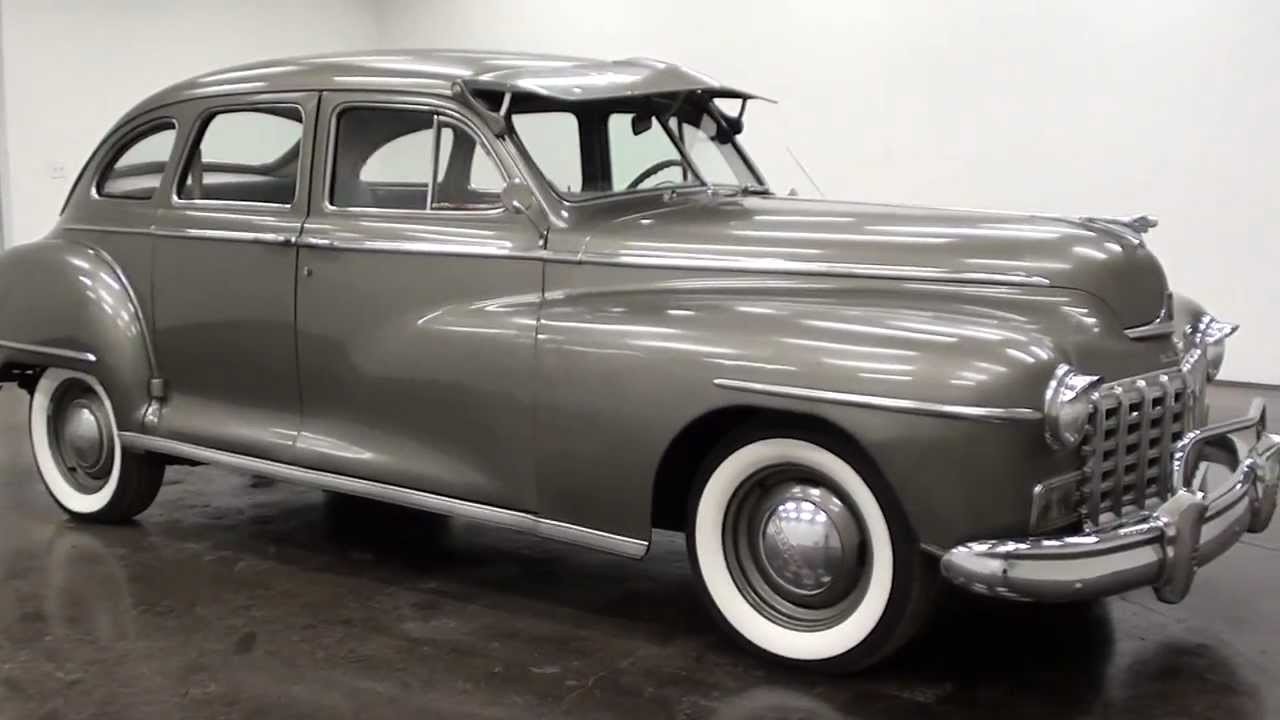 1947 Dodge Sedan - YouTube