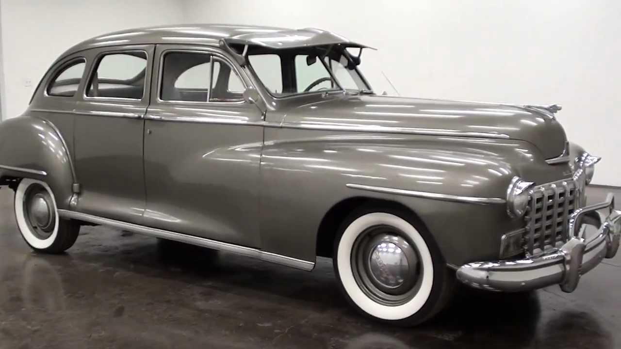 1947 Dodge Sedan - YouTube