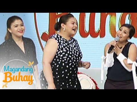 """Magandang Buhay: Momshies sing """"Pangarap Ka Na Lang Ba?"""""""