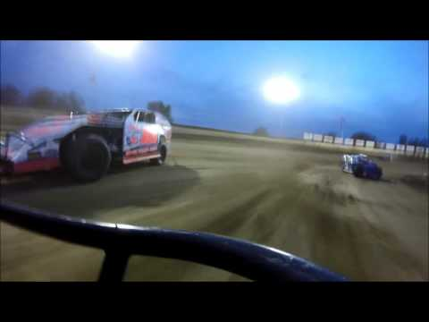 Limaland Motorsports Park Modified Tony Anderson GoPro Feature 5-13-2016