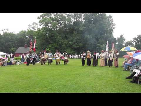 The Wild Bunch Fife and Drum Corps at Nathan Hale 2014