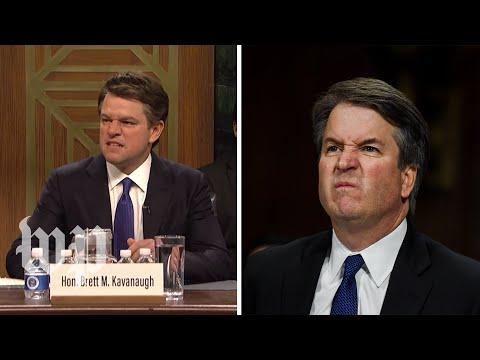 SNLs Kavanaugh hearing vs the real thing