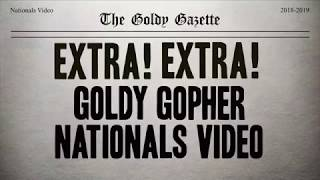 Goldy Gopher 2018-19 Nationals Video