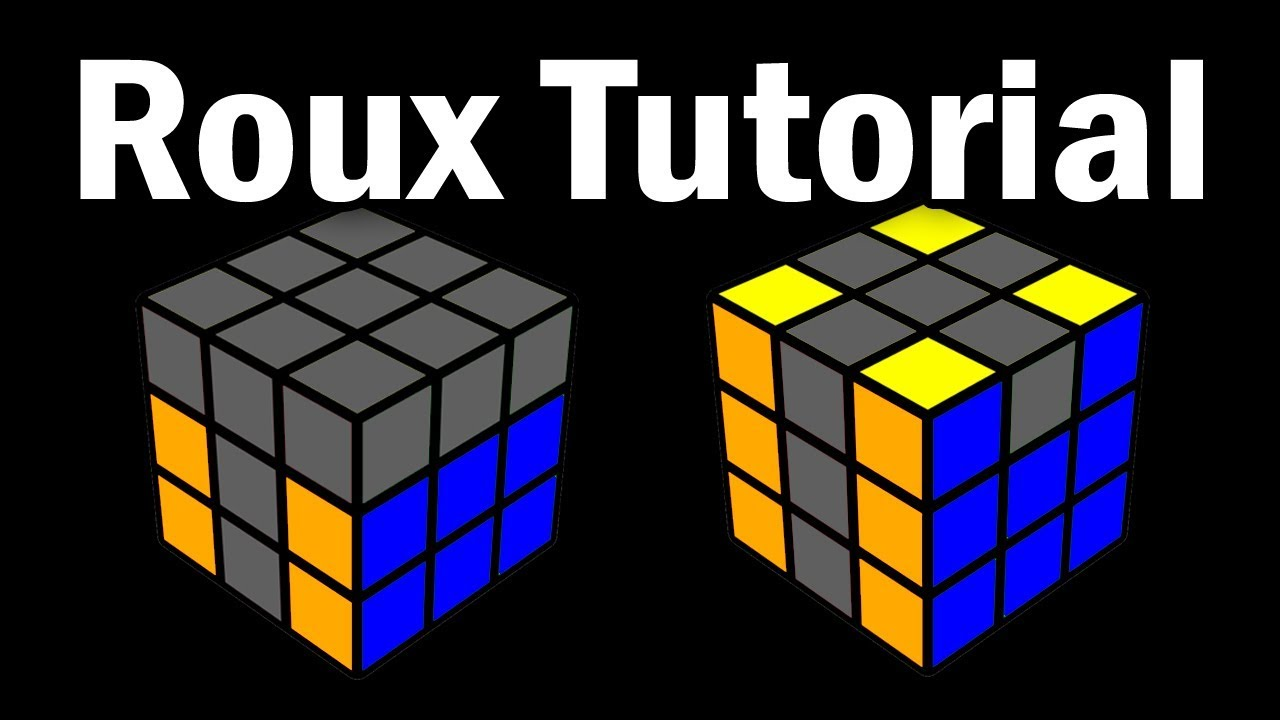 Download Rubik's Cube: Learn the Roux Method in 10 Minutes!
